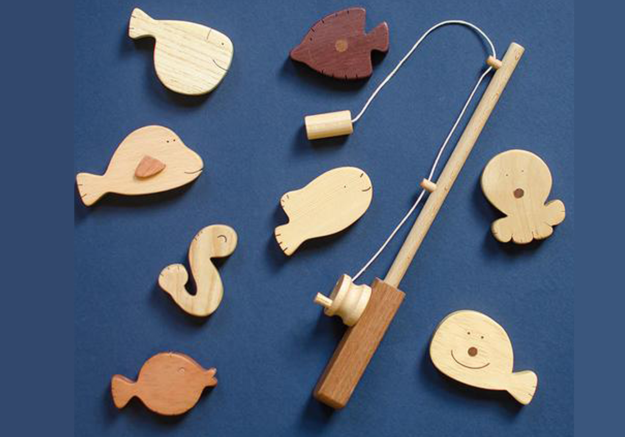 Soopsori Wooden Fishing Set