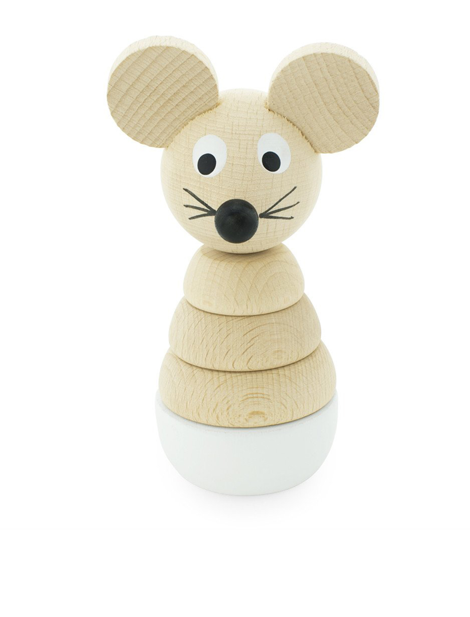 Wooden Mouse Stacking Puzzle