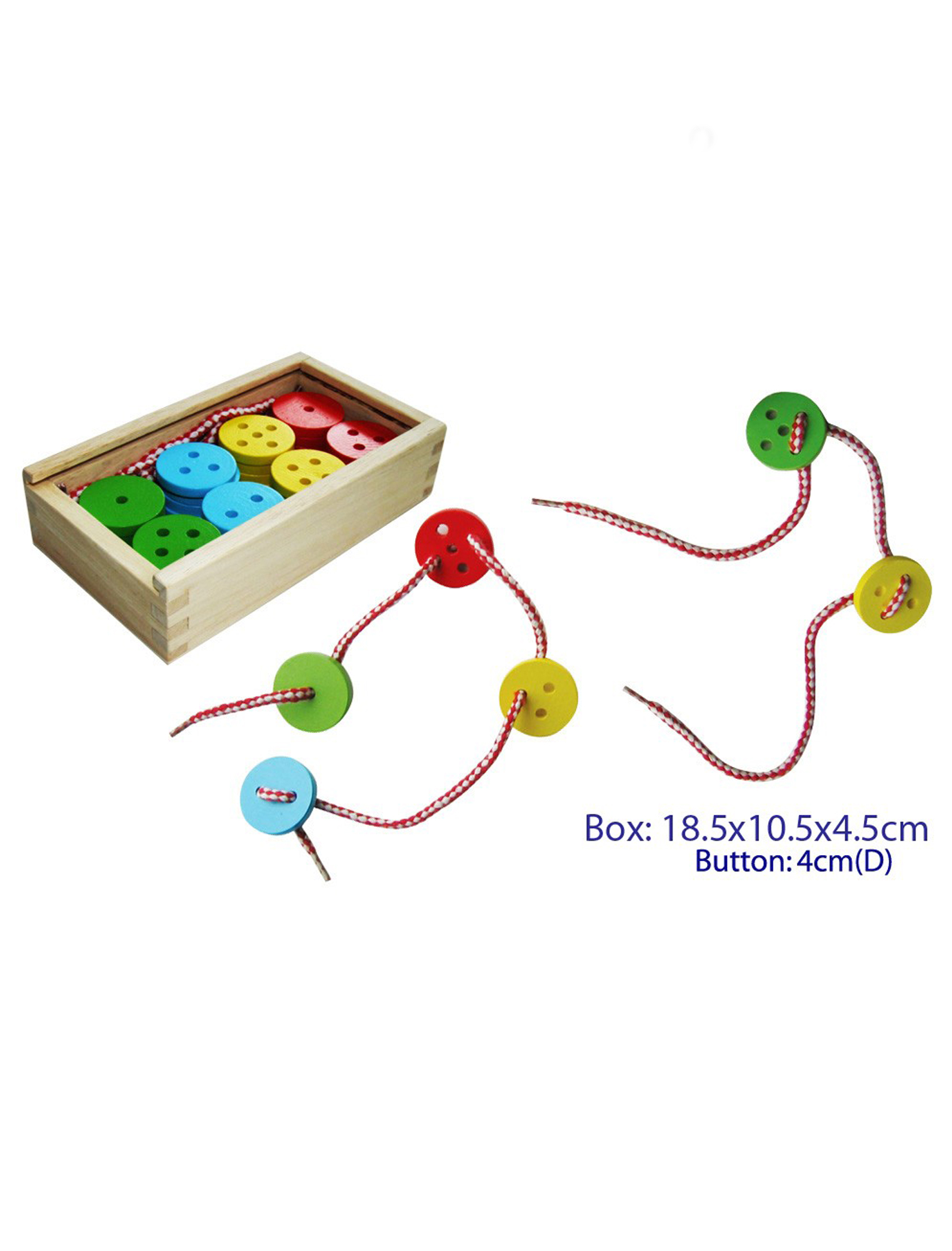 Lacing Buttons 40pcs