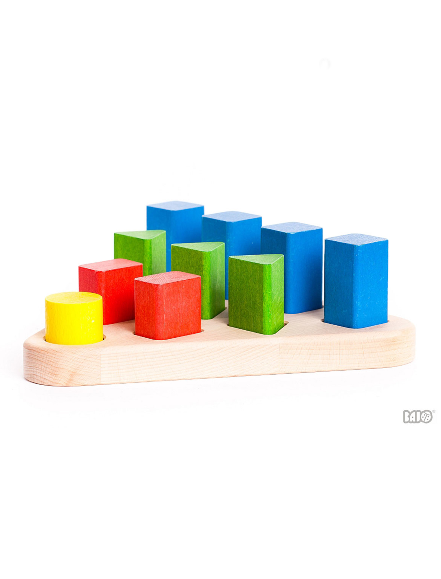 Wooden Sorting Shape Board
