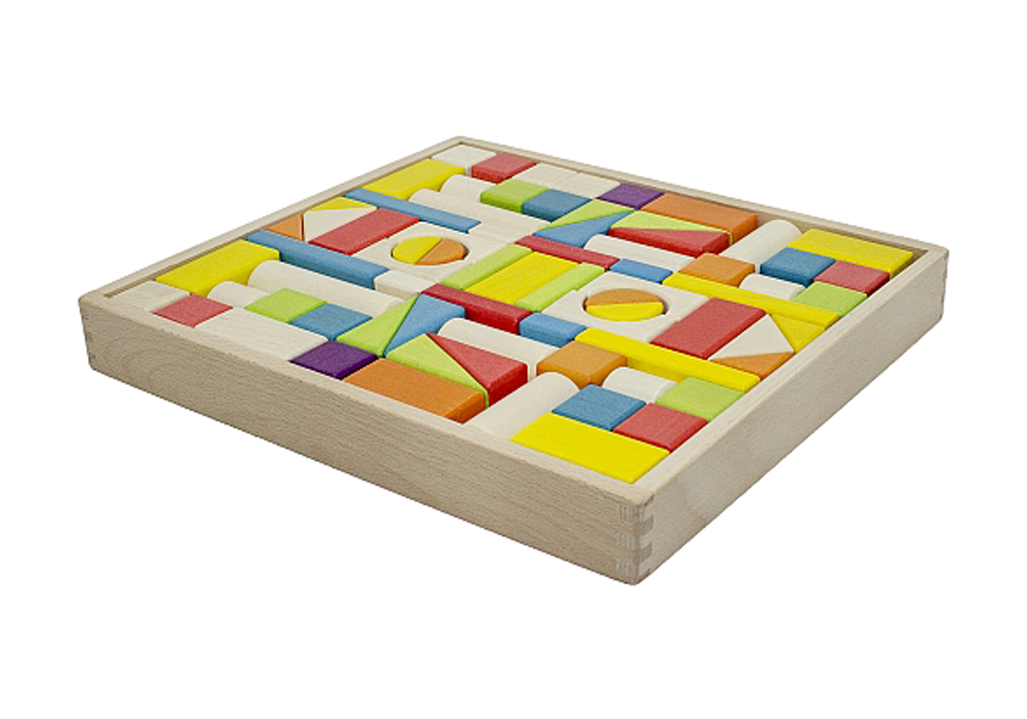 Wooden Block Tray