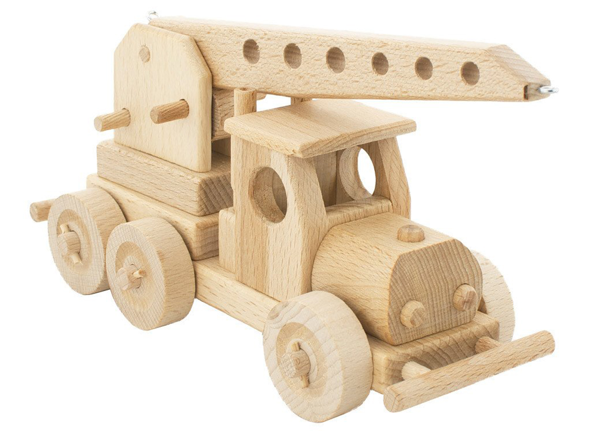 Wooden Tow Truck - Cleo